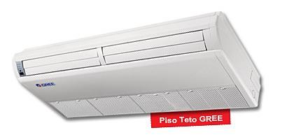 SPLIT PISO / TETO GREE 24.000 BTUS/h