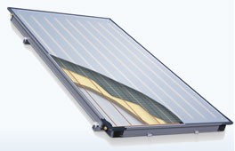 COLETOR SOLAR 4.000 - 182,80 Kwh/mês